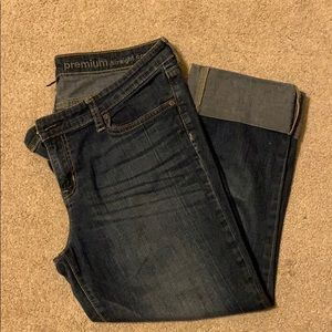 Gap Premium Straight Soft Jean Capri's